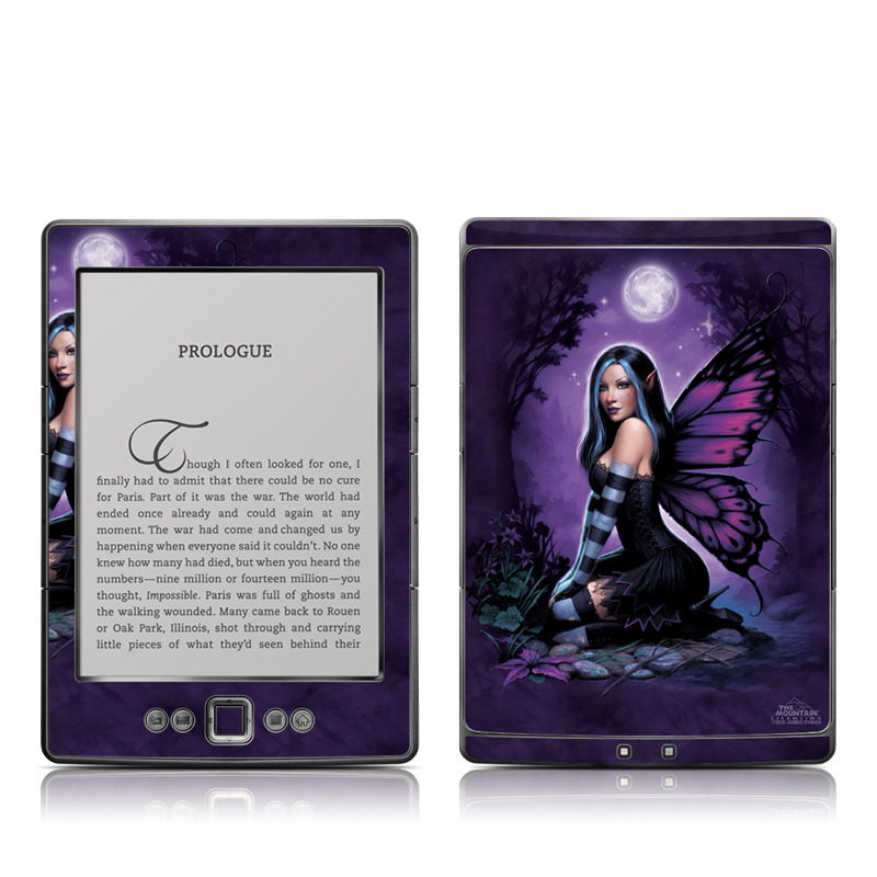 Night Fairy Amazon Kindle 4 Skin