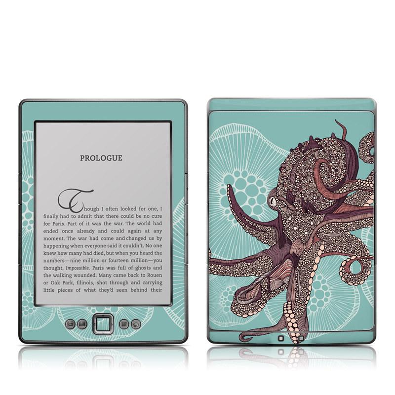 Octopus Bloom Amazon Kindle 4 Skin