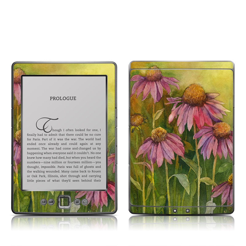 Prairie Coneflower Amazon Kindle 4 Skin