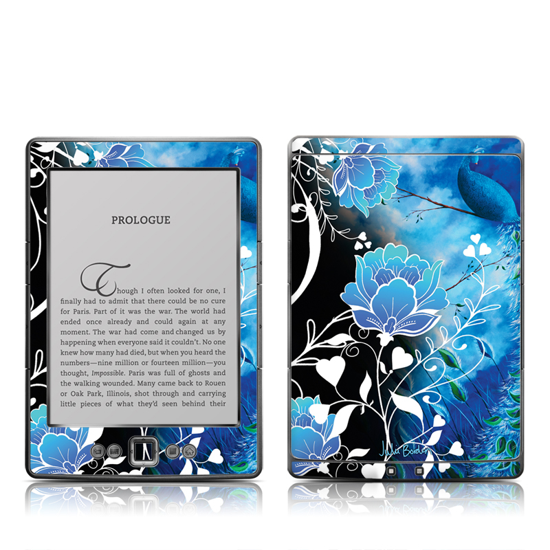 Peacock Sky Amazon Kindle 4 Skin