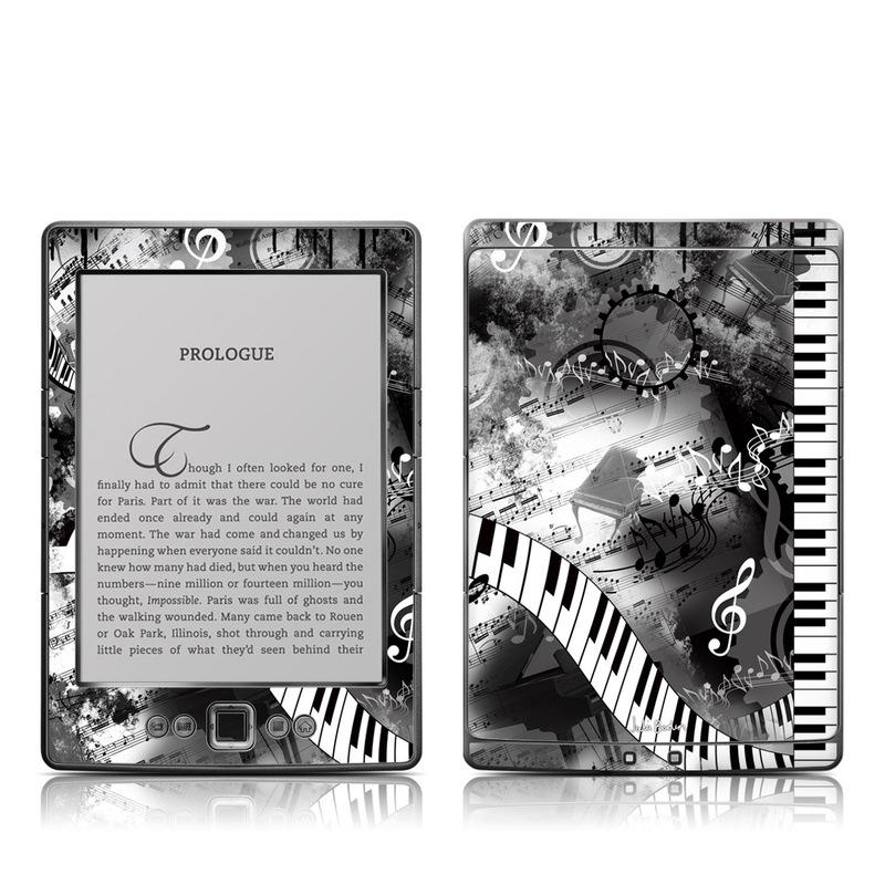 Piano Pizazz Amazon Kindle 4 Skin