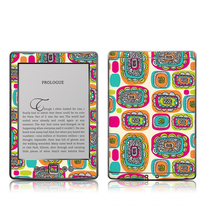 Pod Flowers Amazon Kindle 4 Skin