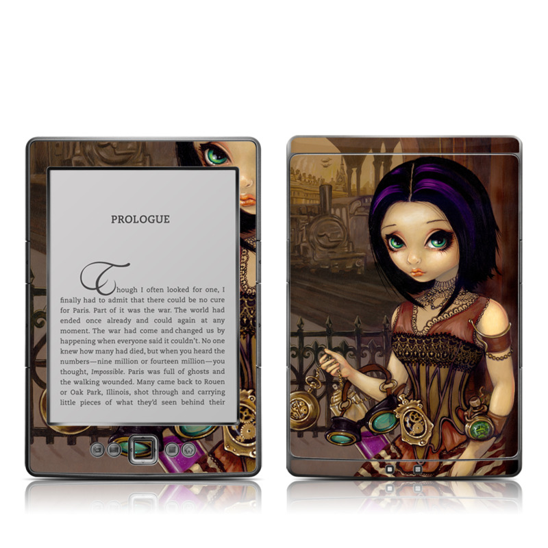 Poe Amazon Kindle 4 Skin