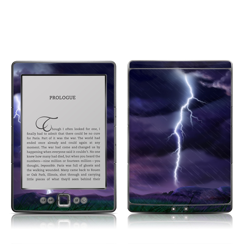 Purple Strike Amazon Kindle 4 Skin
