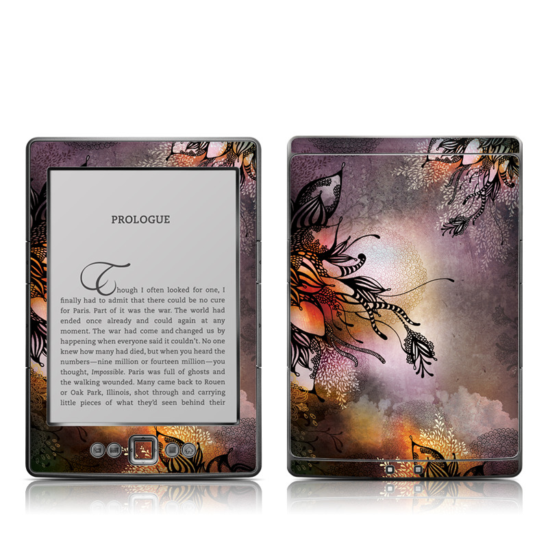 Purple Rain Amazon Kindle 4 Skin