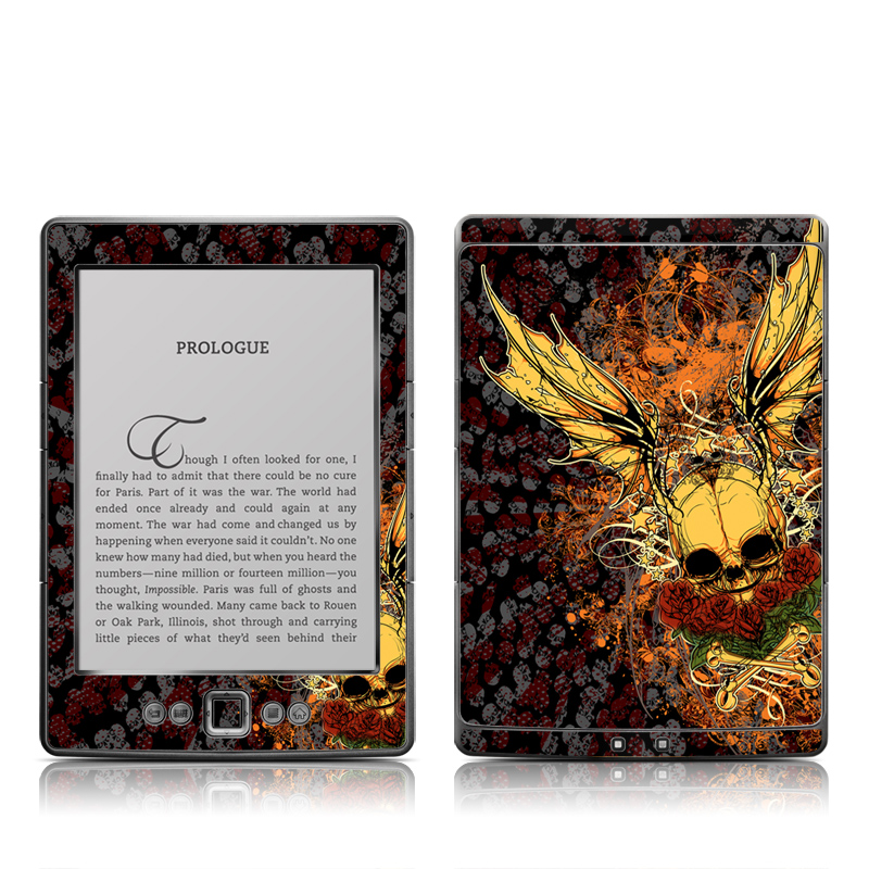 Radiant Skull Amazon Kindle 4 Skin
