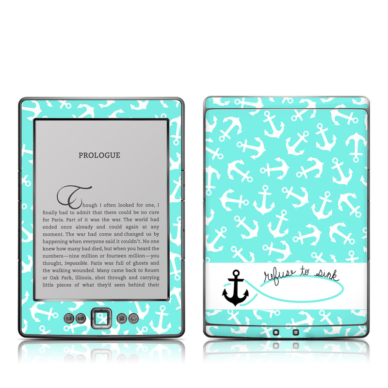 Refuse to Sink Amazon Kindle 4 Skin