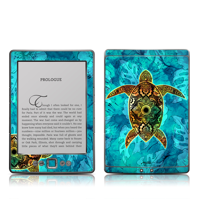 Sacred Honu Amazon Kindle 4 Skin