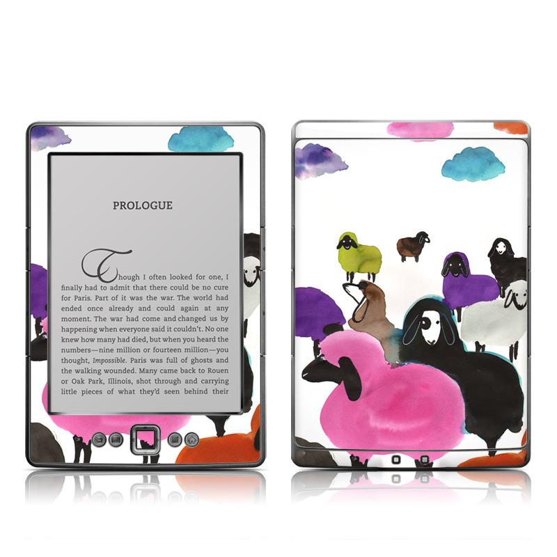 Sheeps Amazon Kindle 4 Skin