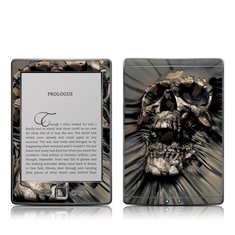 Skull Wrap Amazon Kindle 4 Skin
