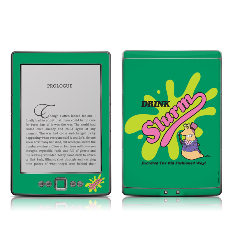 Slurm Amazon Kindle 4 Skin