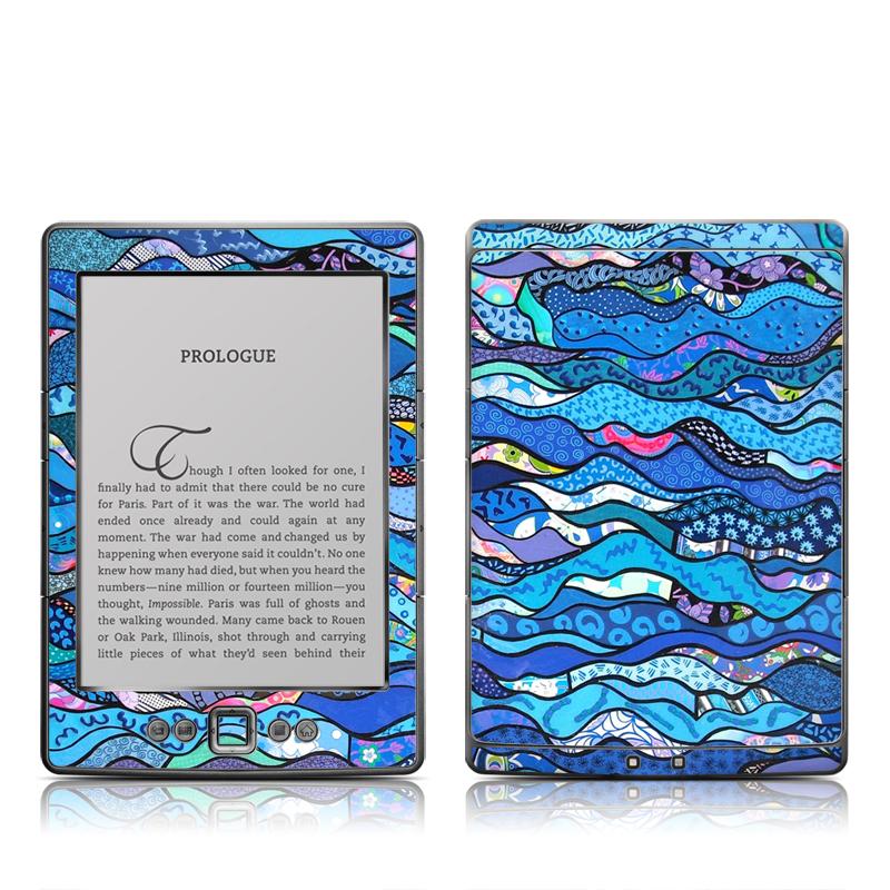 The Blues Amazon Kindle 4 Skin