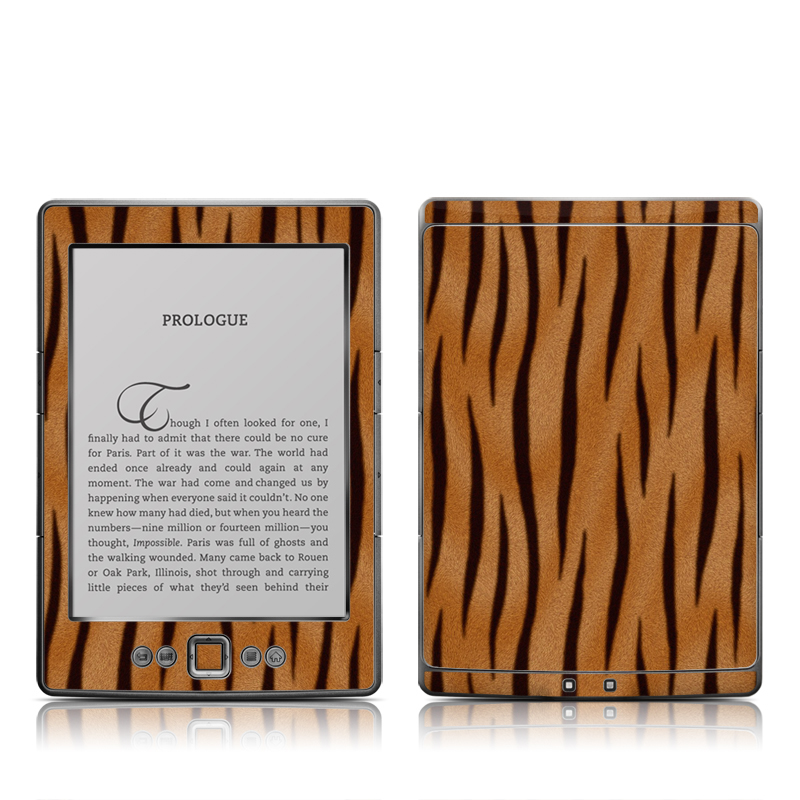 Tiger Stripes Amazon Kindle 4 Skin