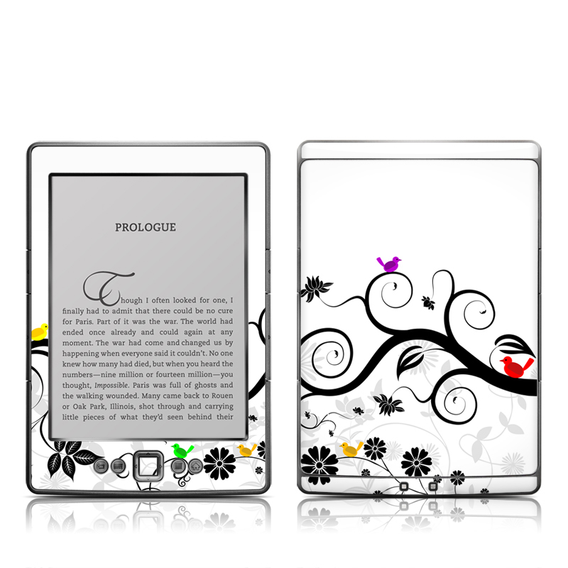 Tweet Light Amazon Kindle 4 Skin