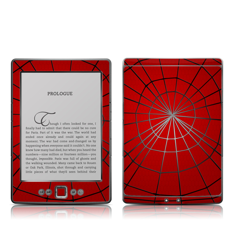 Webslinger Amazon Kindle 4 Skin