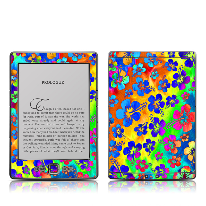 Wild Summer Amazon Kindle 4 Skin
