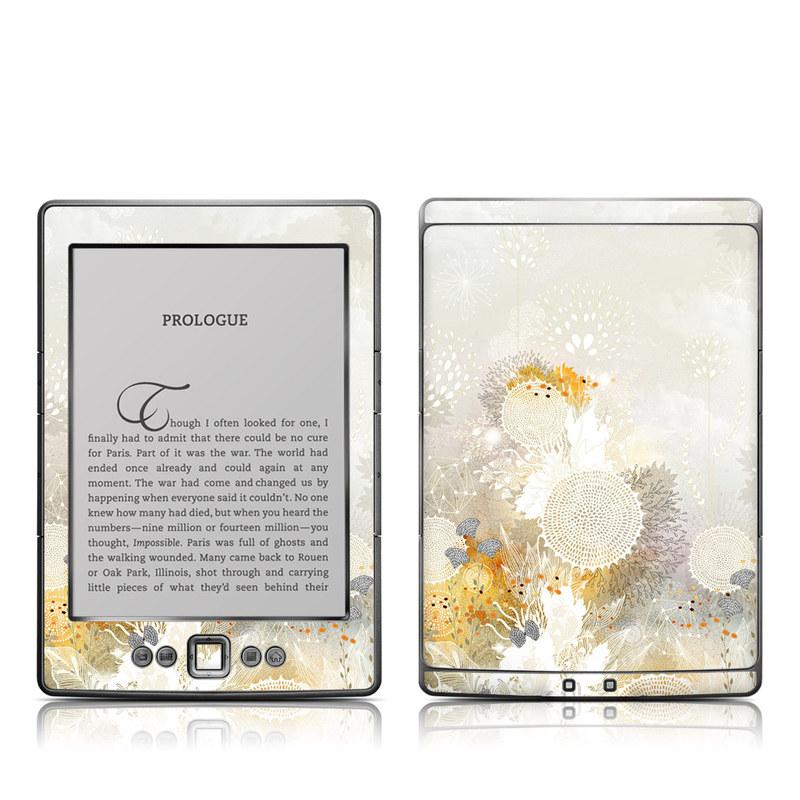 White Velvet Amazon Kindle 4 Skin