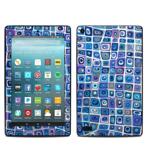 Blue Monday Amazon Fire 7 Skin