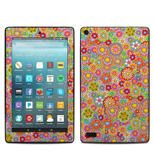 Bright Ditzy Amazon Fire 7 Skin