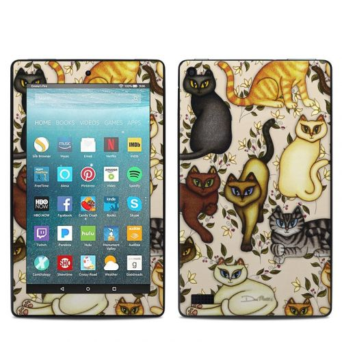 Cats Amazon Fire 7 Skin