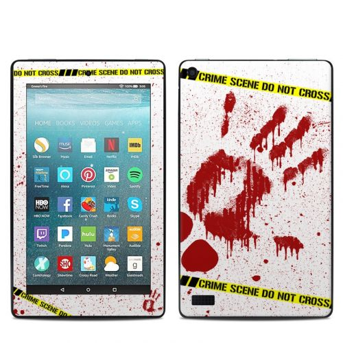 Crime Scene Revisited Amazon Fire 7 Skin