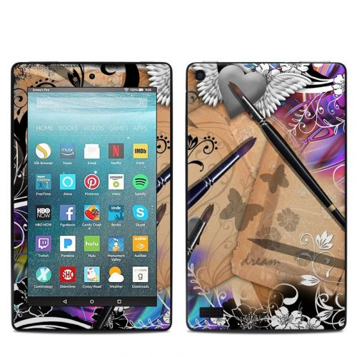 Dream Flowers Amazon Fire 7 Skin