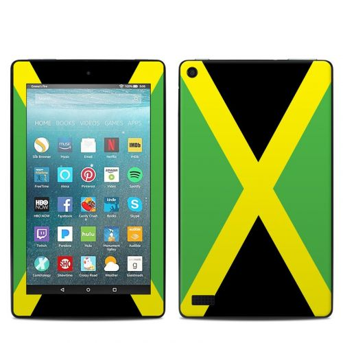 Jamaican Flag Amazon Fire 7 Skin