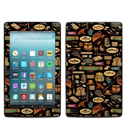 Gone Fishing Amazon Fire 7 Skin