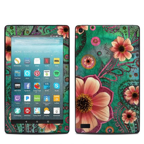 Paisley Paradise Amazon Fire 7 Skin