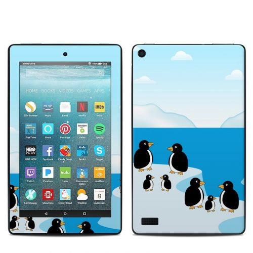 Penguins Amazon Fire 7 Skin