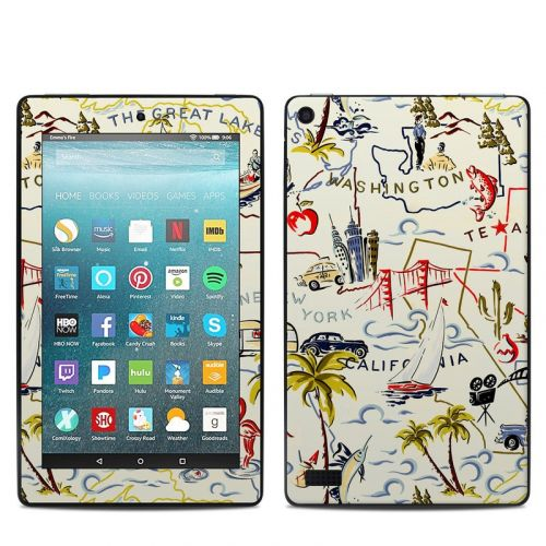 Road Trip Amazon Fire 7 Skin