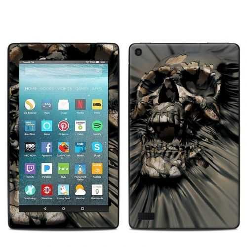 Skull Wrap Amazon Fire 7 Skin