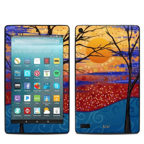 Sunset Moon Amazon Fire 7 Skin