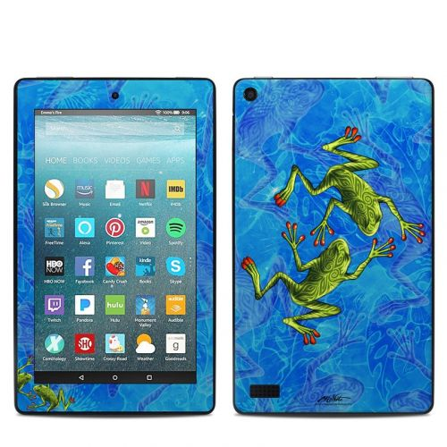 Tiger Frogs Amazon Fire 7 Skin