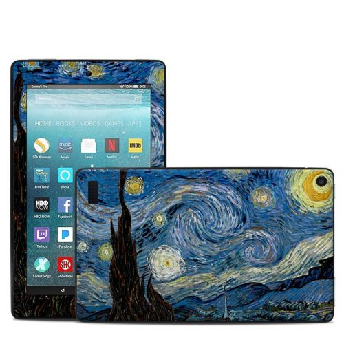 Starry Night Amazon Fire 7 Skin