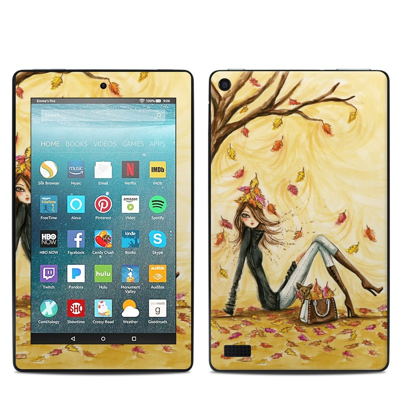 Autumn Leaves Amazon Fire 7 Skin
