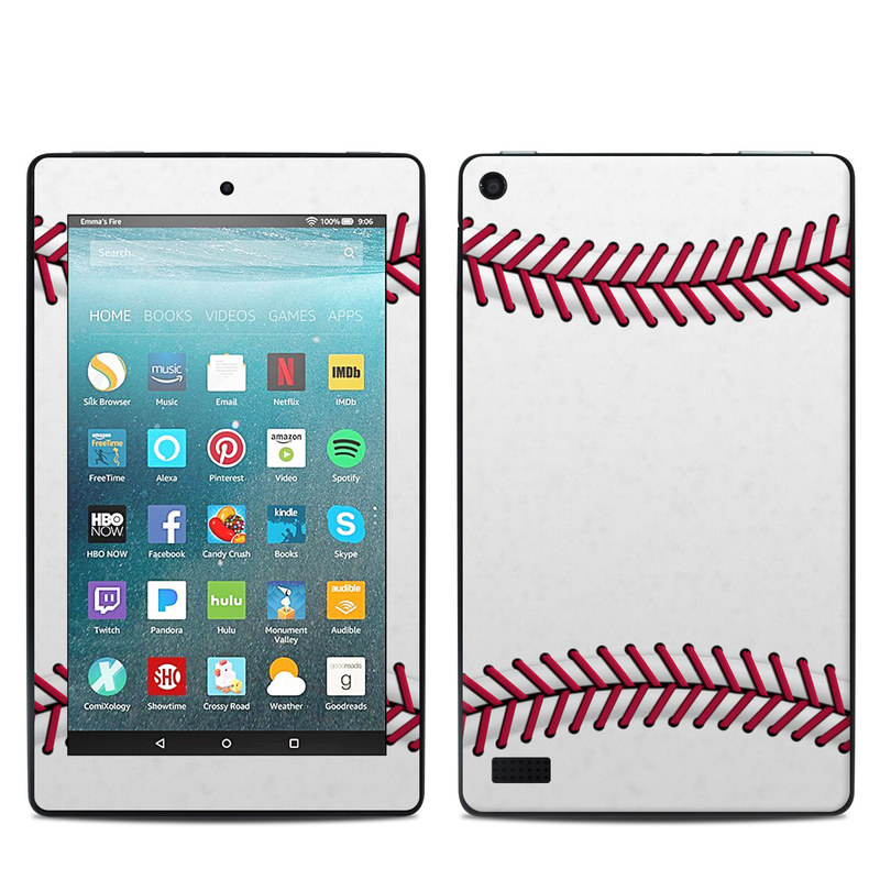 Baseball Amazon Fire 7 Skin