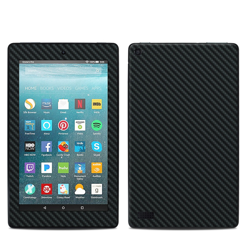 Carbon Amazon Fire 7 Skin