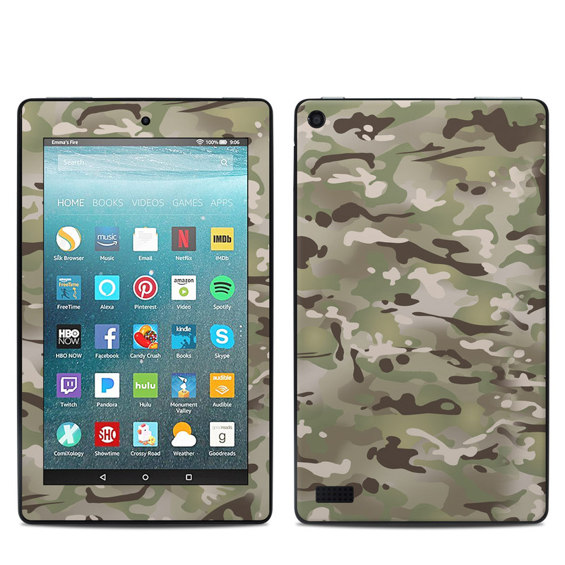 FC Camo Amazon Fire 7 Skin