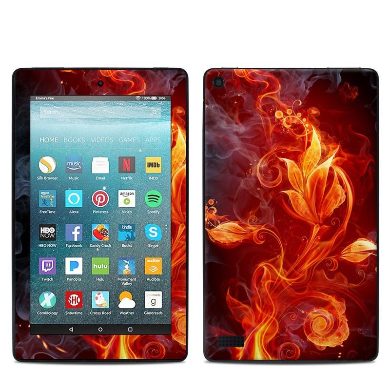 Flower Of Fire Amazon Fire 7 Skin