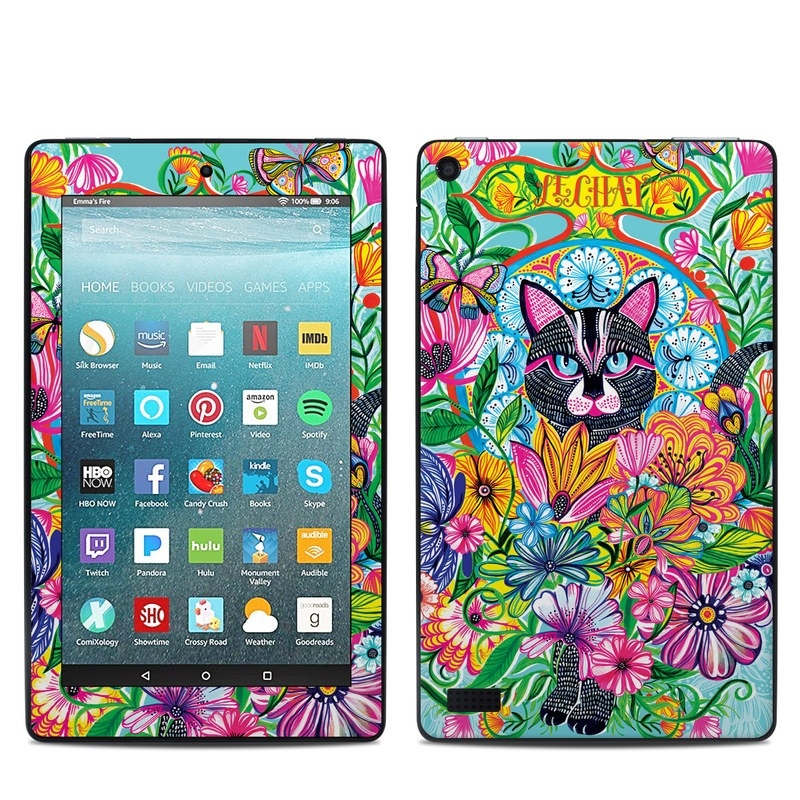 Le Chat Amazon Fire 7 Skin