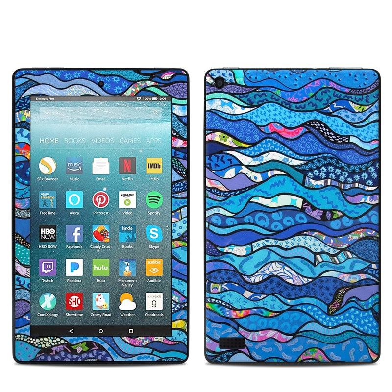 The Blues Amazon Fire 7 Skin