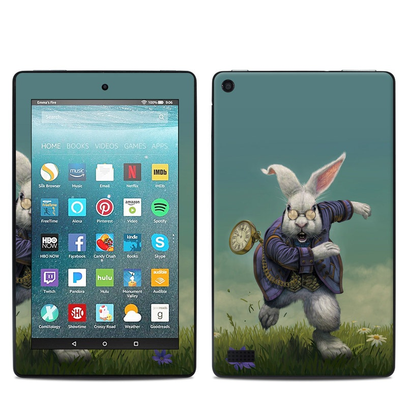 White Rabbit Amazon Fire 7 Skin