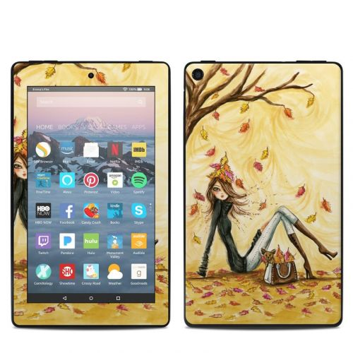 Autumn Leaves Amazon Fire 7 2019 Skin
