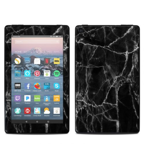 Black Marble Amazon Fire 7 2019 Skin