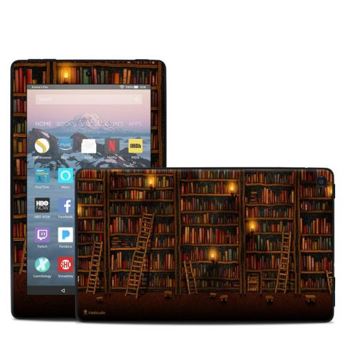 Library Amazon Fire 7 2019 Skin