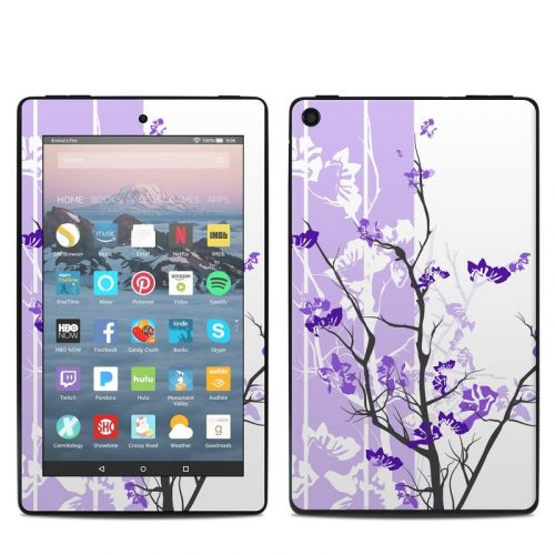 Violet Tranquility Amazon Fire 7 2019 Skin