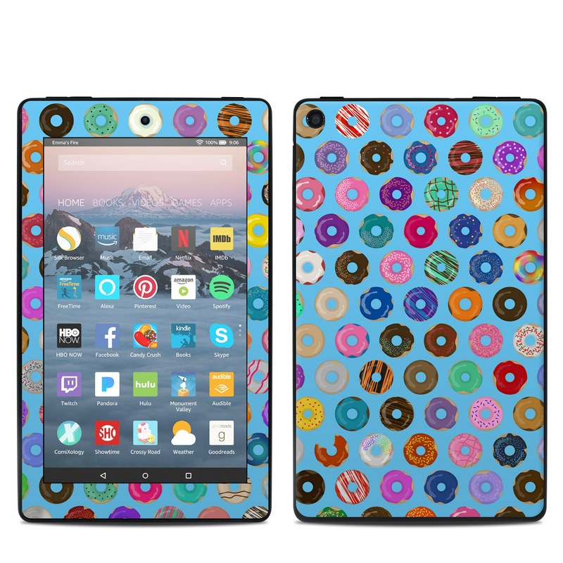 Amazon Fire 7 2019 Skin design of Pattern, Circle, Turquoise, Textile, Wrapping paper, Design, Line, Visual arts, Art with blue, yellow, pink, purple, orange, white, red, black, brown, green colors
