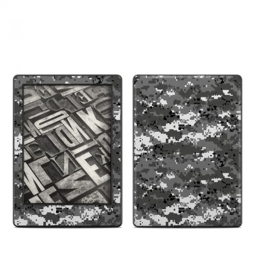 Digital Urban Camo Amazon Kindle 8th Gen Skin