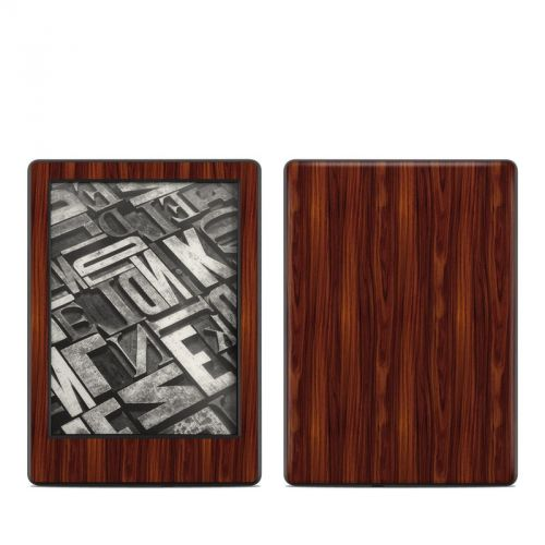 Dark Rosewood Amazon Kindle 8th Gen Skin